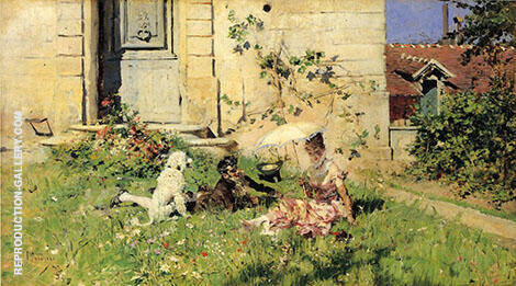 Spring Painting By Giovanni Boldini - Reproduction Gallery