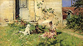 Spring By Giovanni Boldini