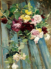 Still Life with Rose By Giovanni Boldini