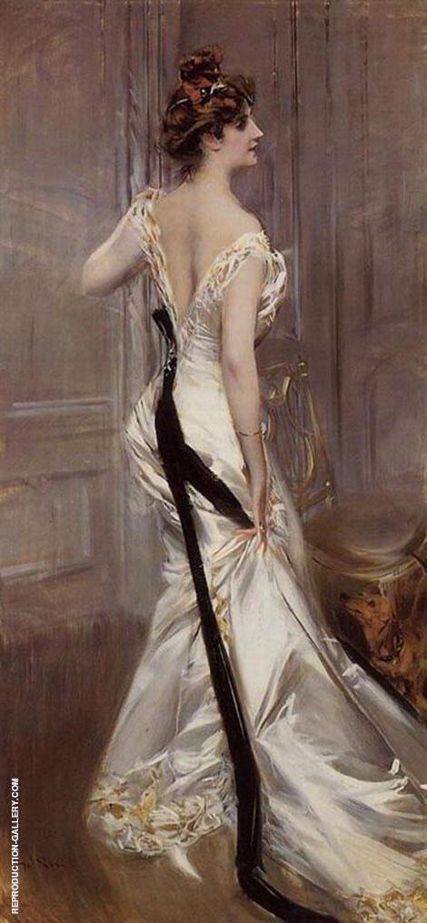 The Black Sash 1905 By Giovanni Boldini
