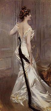 The Black Sash 1905 By Giovanni Boldini