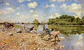 The Laundry 1874 By Giovanni Boldini