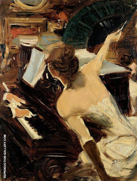 The Mondona Singer By Giovanni Boldini