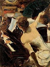 The Mondona Singer By Giovanni Boldini