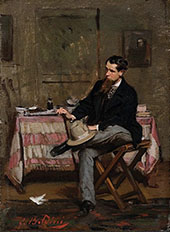 The Painter Vincenzo Cabianca 1909 By Giovanni Boldini