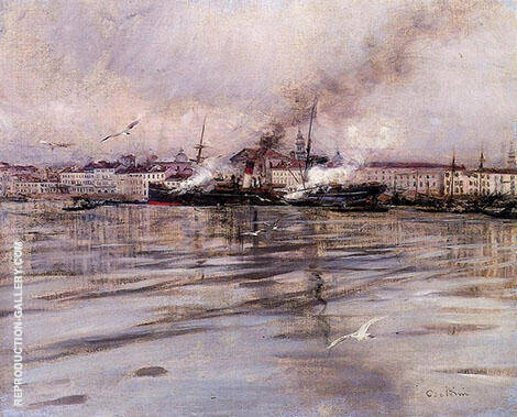 View of Venice 1895 By Giovanni Boldini