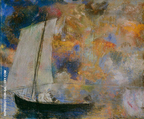 Flower Clouds 1903 By Odilon Redon