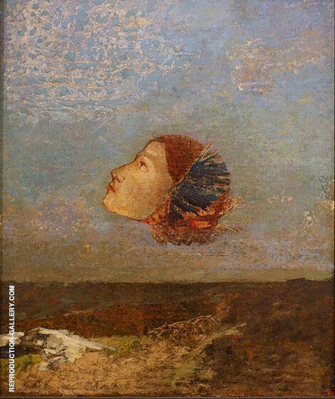 Hommage to Goya Painting By Odilon Redon - Reproduction Gallery