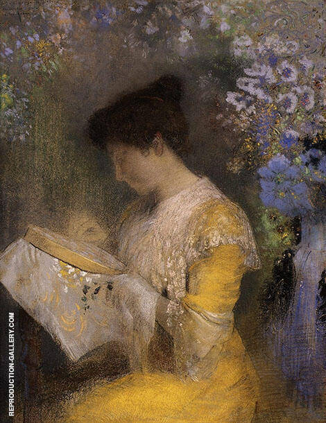 Madame Arthur Fontaine Painting By Odilon Redon - Reproduction Gallery