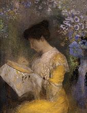 Madame Arthur Fontaine By Odilon Redon