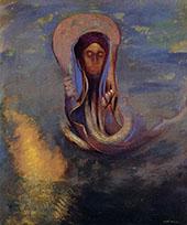 Oannes 1910 By Odilon Redon