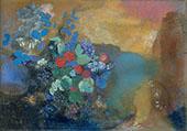 Ophelia Among The Flowers By Odilon Redon