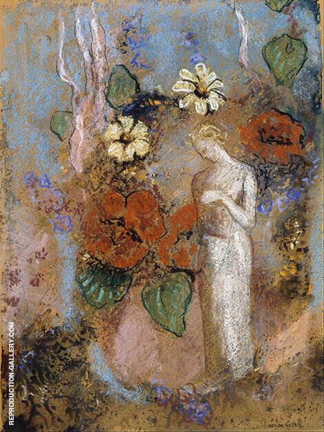 Pandora 1914 By Odilon Redon