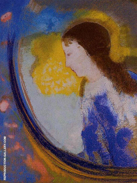 The Child in a Sphere of Light Painting By Odilon Redon