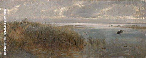Seascape Near Naples 1873 By Giuseppe De Nittis