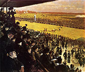 The Races at Longchamps from The Grandstand 1883 By Giuseppe De Nittis