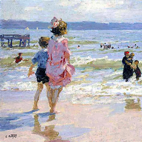 Oil Painting Reproductions of Edward Henry Potthast