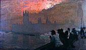 Westminster 1878 By Giuseppe De Nittis