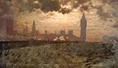 Westminster Bridge 1878 By Giuseppe De Nittis