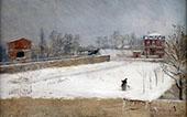 Winter Landscape 1880 By Giuseppe De Nittis