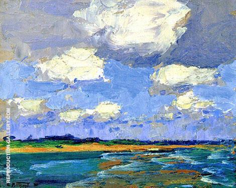 Beach 1920 By Edward Henry Potthast