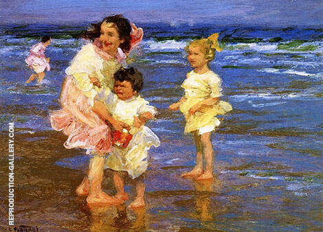 Cold Feet By Edward Henry Potthast