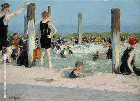 In The Dog Days By Edward Henry Potthast