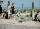 In The Dog Days By Edward Henry Potthast