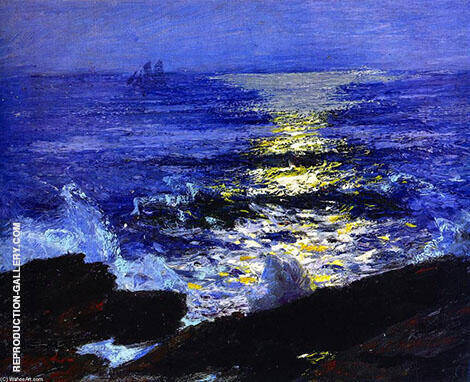 Seascape By Edward Henry Potthast