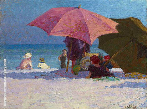 Shade By Edward Henry Potthast