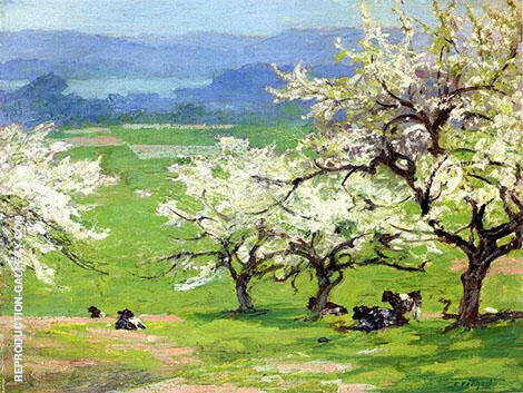 Springtime By Edward Henry Potthast