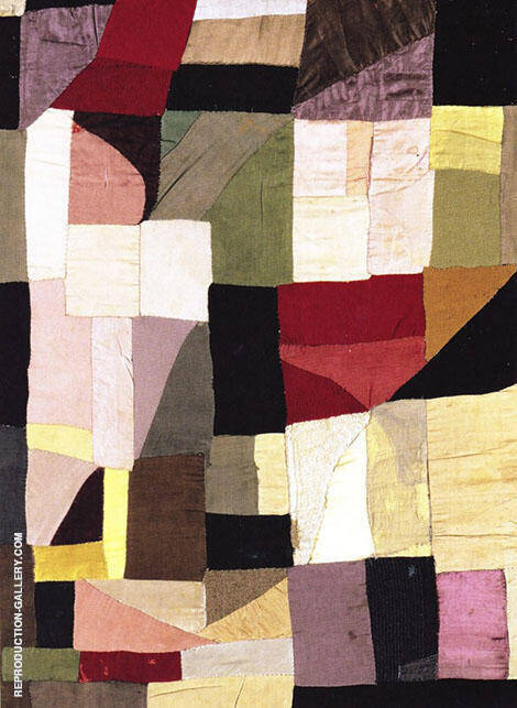 Patchwork Cover for Her Son's Cradle 1911 By Sonia Delaunay