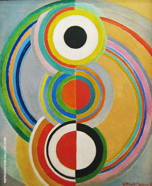 Rythme 1938 By Sonia Delaunay