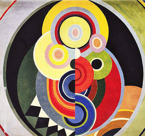 Salon des Tuileries 1938 By Sonia Delaunay
