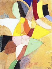 Simultaneous Solar Prism 1914 By Sonia Delaunay