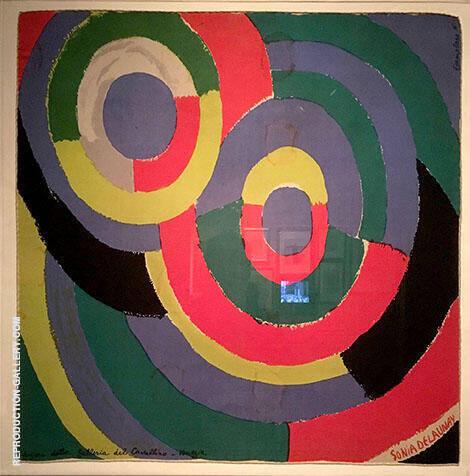 Tondo 1962 By Sonia Delaunay