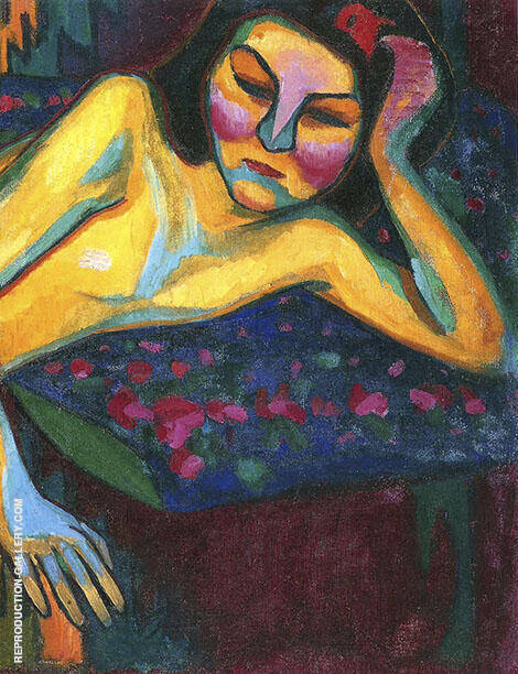 Yellow Nude 1908 By Sonia Delaunay
