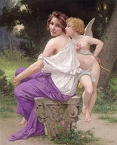 Cupid and Psyche 2 By Guillaume Seignac