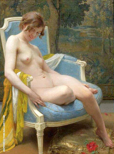 Daphne Painting By Guillaume Seignac - Reproduction Gallery