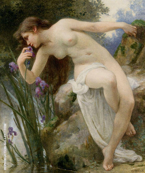Fragrant Iris By Guillaume Seignac
