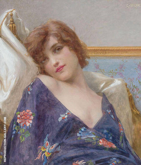 Indolence By Guillaume Seignac Replica Paintings on Canvas - Reproduction Gallery