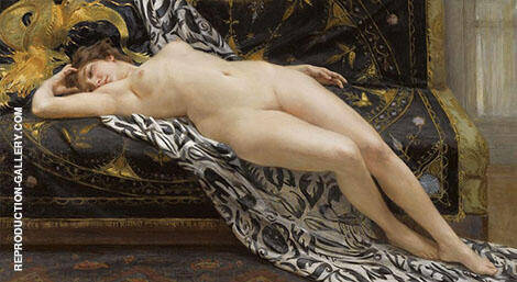 L Abandon Painting By Guillaume Seignac - Reproduction Gallery