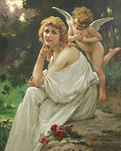 Portrait of Mary Pickford By Guillaume Seignac