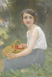 The Cherry Girl By Guillaume Seignac