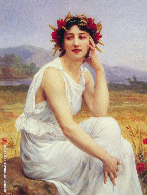 The Muse By Guillaume Seignac