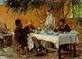 Breakfast in Sora 1880 By Peder Severin Kroyer