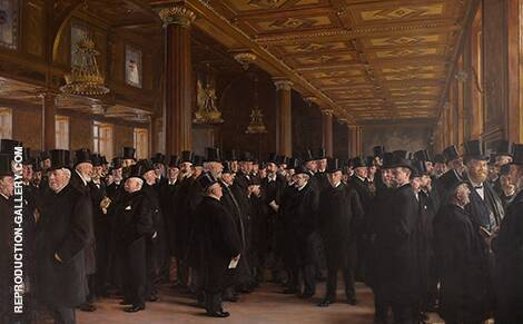 From The Bourse of Copenhagen 1895 By Peder Severin Kroyer
