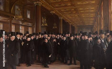 From The Bourse of Copenhagen 1895 By Peder Severin Kroyer