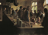 In The Store When There is no Fishing 1882 By Peder Severin Kroyer