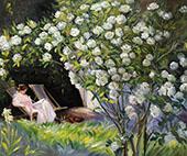 Roses 1893 By Peder Severin Kroyer